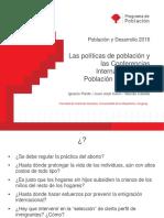 Polìticas de poblaciòn y conferencias