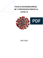 Protocolo de Bioseguridad SEDENA Version
