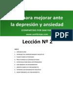 covid. manejando ansiedad y depresion