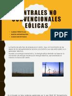 Centrales no convencionales eólicas