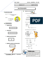 III BIM - Aritmetica - 5to. año -  Guía 7 - Multiplicación (.doc