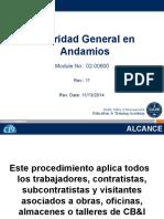 02-00600 Seguridad General En Andamios