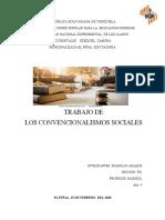 los convencionalismos sociales en venezuela