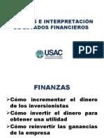 Unidad 1 - Análisis e Interpretación de Estados Financieros