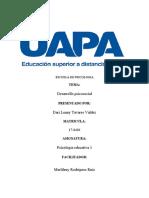 tarea 3 DE PSICOLOGIA EDUCATIVA 1