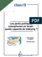 Les partis politiques russophones en Israël