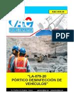 A&C-058-20_LA-079-20 PORTICO DESINFECCION VEHICULOS_RV.E