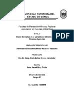 Normatividad Primer Parcial Díaz Colín Irma Janet