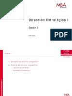 Dirección estrategica I  3