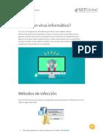Virus informáticos y antivirus
