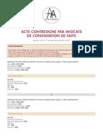 acte_contresigne_par_avocats_de_constatation_de_faits