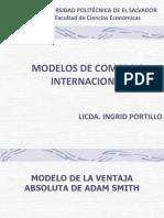 Clase 4 - Modelos de Comercio Internacional