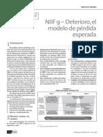 NIIF 9 DETERIORO