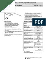 M3 data sheet