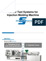 Tie-bar Strain Test Systems for Molding Machine