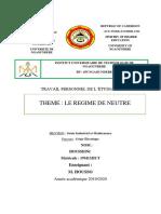 TPE  D'INSTALLATION ELECTRIQUE