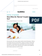 How Often Do 'Normal' Couples Have Sex_
