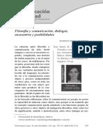 Filosofía y comunicación....pdf