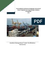 Analisis Kategorisasi  dalam Trade Facilitation Indonesia