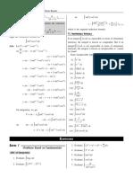 Indefinite integral complete