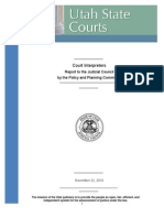 Utah Judicial Council Report