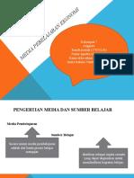 Media Pembelajaran Ekonomi Kelompok 7 Tentang Konsep Dasar Media Pembelajaran