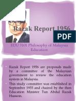 Razak Report 1956