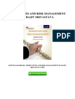 [B781.Ebook] Download PDF Derivatives And Risk Management By Rajiv Srivastava
