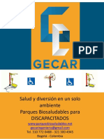 Gecar fichas Tecnicas -  Discapacitados - 2019
