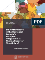 Ethnic Minorities in the Context of Georgia's European Integration