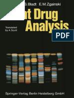 Plant Drug Analysis