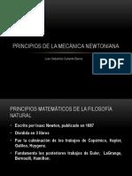 Principios de la mecánica Newtoniana