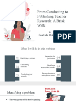 From Conducting to Publishing Teacher Research.pptx