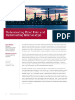 Understanding Cloud Point and Hydrotreating Relationships Revised