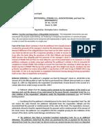 CASE #6 Osmena vs Citibank 2004