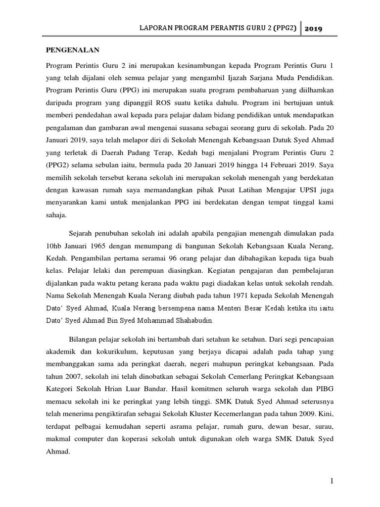 Report Ppg2 Pdf