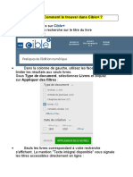 livre numérique  recherche