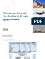 Planning and Design of Non-Traditional _Airport
