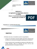 4. Módulo 1. La Legislación en SST. Clase 4. Complemento COVID.19.pdf