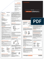 TYPHOON STEADYGRIP G manual