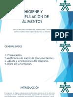 HIGIENE Y MANIPULACIÒN DE ALIMENTOS 1