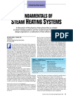 Fundamentals of Steam Heating Systems