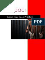 18. Juicio Oral Caso Práctico   EJERCICIOS. CUADERNILLO