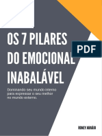 Os 7 Pilares Do Emocional Inabalável - Roney Araújo