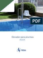 AQUA-Elevador para piscinas