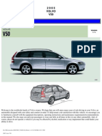 VOLVO V50 2005 User Manual