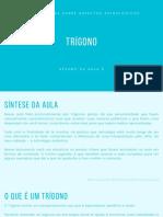 RESUMO - AULA 5 - TRÍGONO
