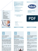 Managed Print Services Brochure