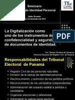 Seminario Gestión de Identidad- Quito Ecuador