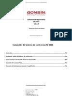 contenido solucion sistema de conferencia TL5600
